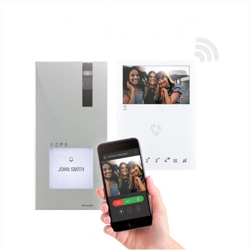 Comelit 8451V Quadra Kit Mini Handsfree Kit Wifi
