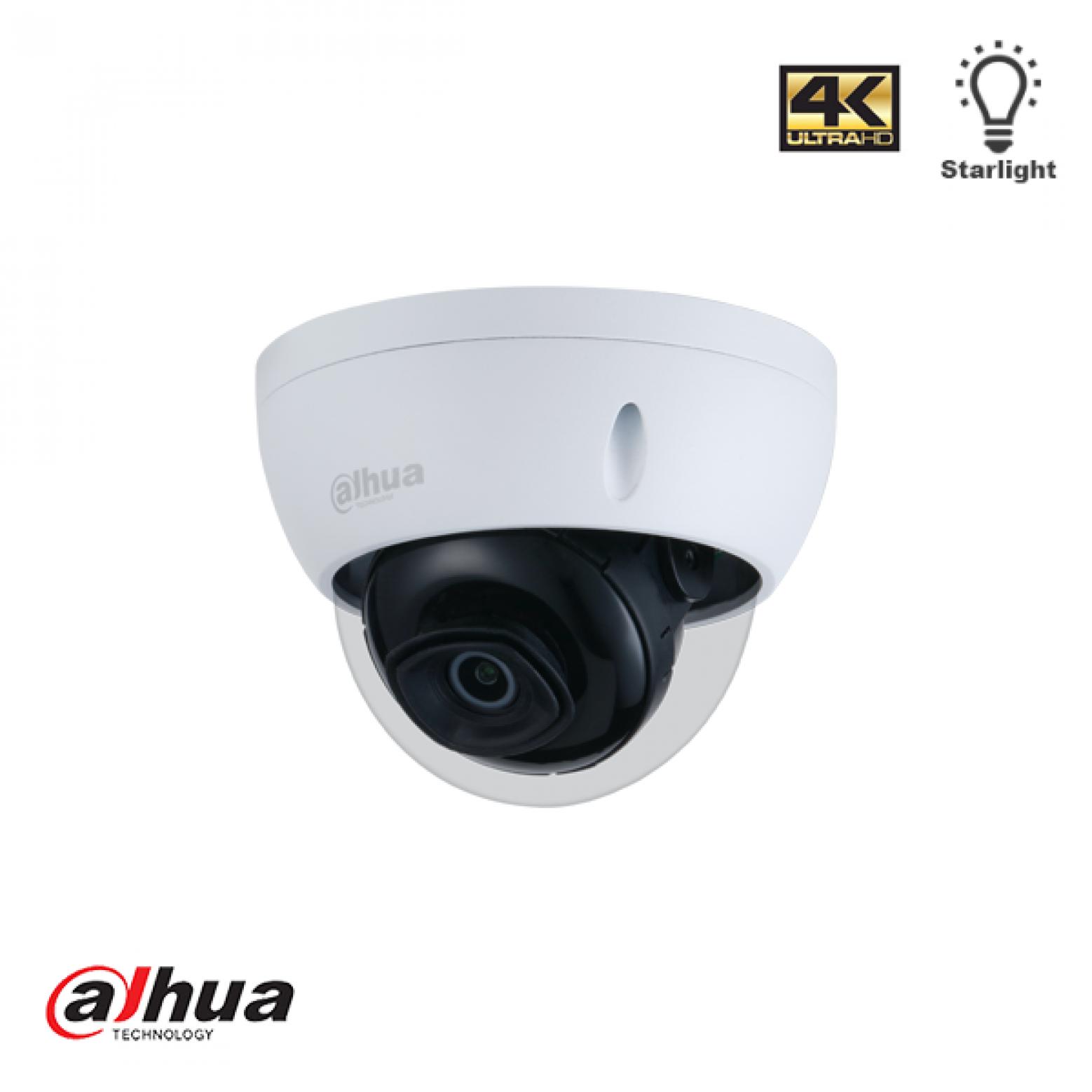Dahua IPC-HDBW2831E-S-S2-28 Lite IR 8MP dome camera