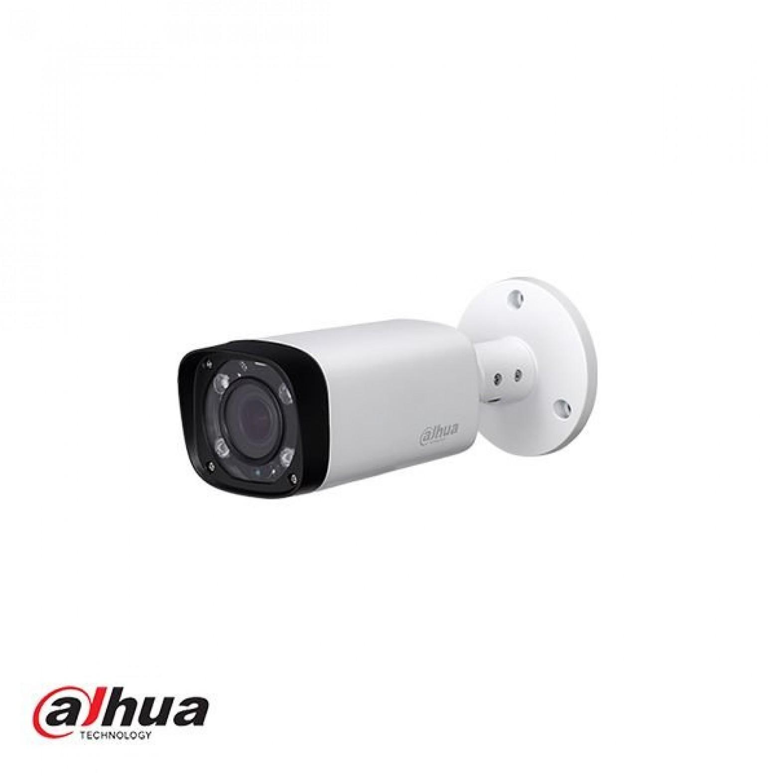 Dahua HAC-HFW2401, HD-CVI camera 4MP Mini IR-Bullet camera met WDR, 3.6mm lens
