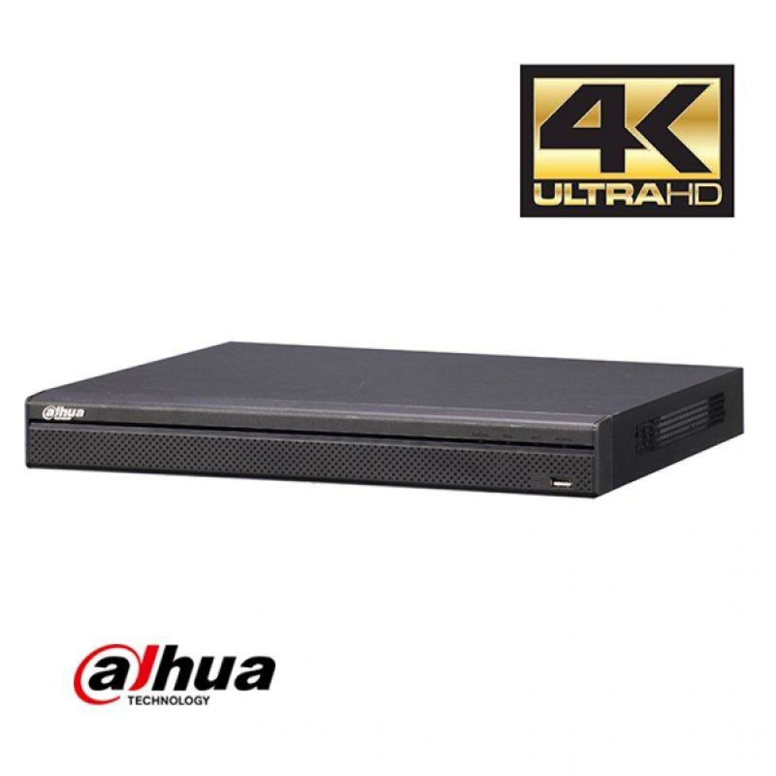 Dahua NVR4108HS-8P-4KS2 8 kanaals Compact 1U 8PoE 4K&H.265 Lite Network Video Recorder incl 2TB HDD
