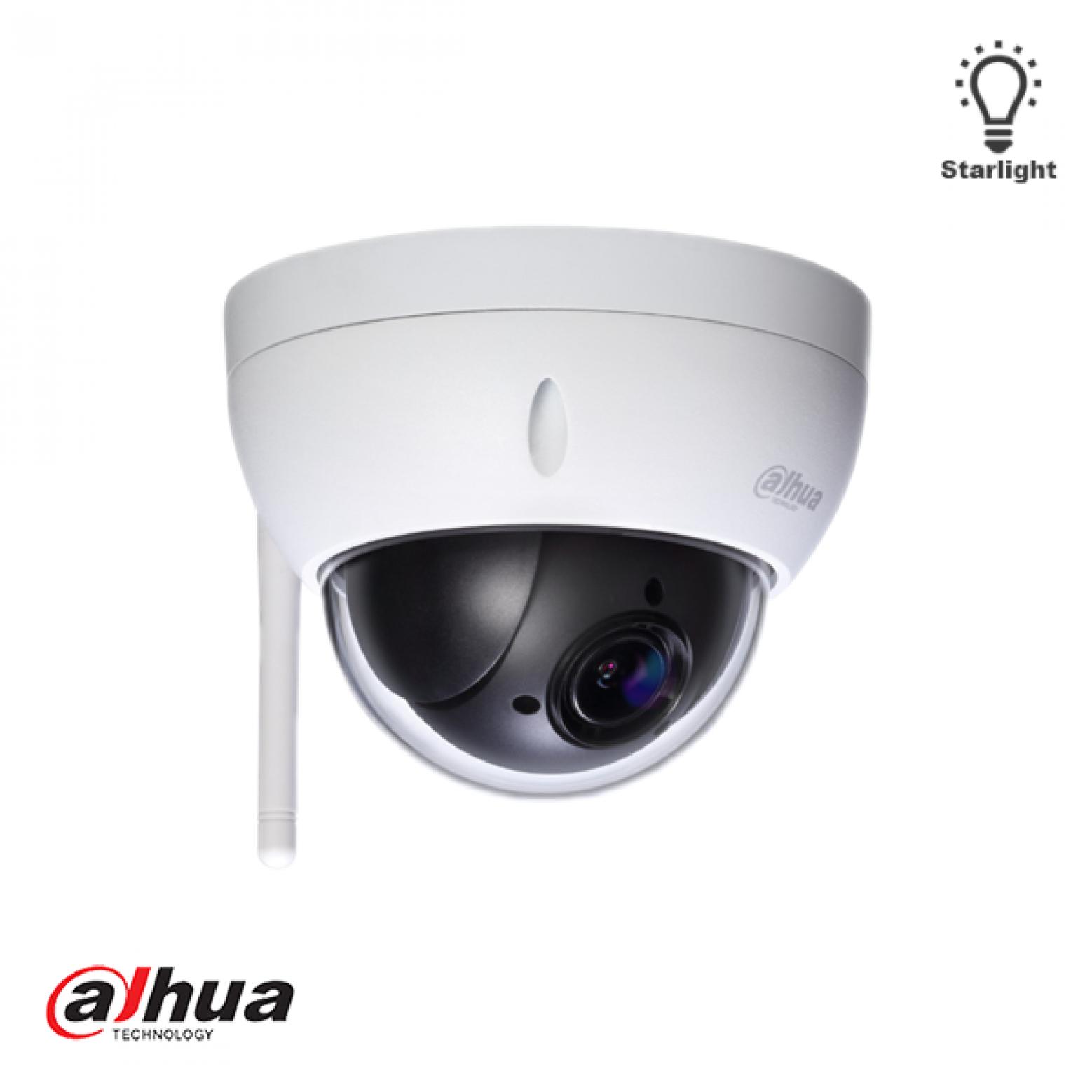 Dahua SD22204UE-GN-W 2 Mp Full HD Starlight WiFi Mini PTZ Dome Camera