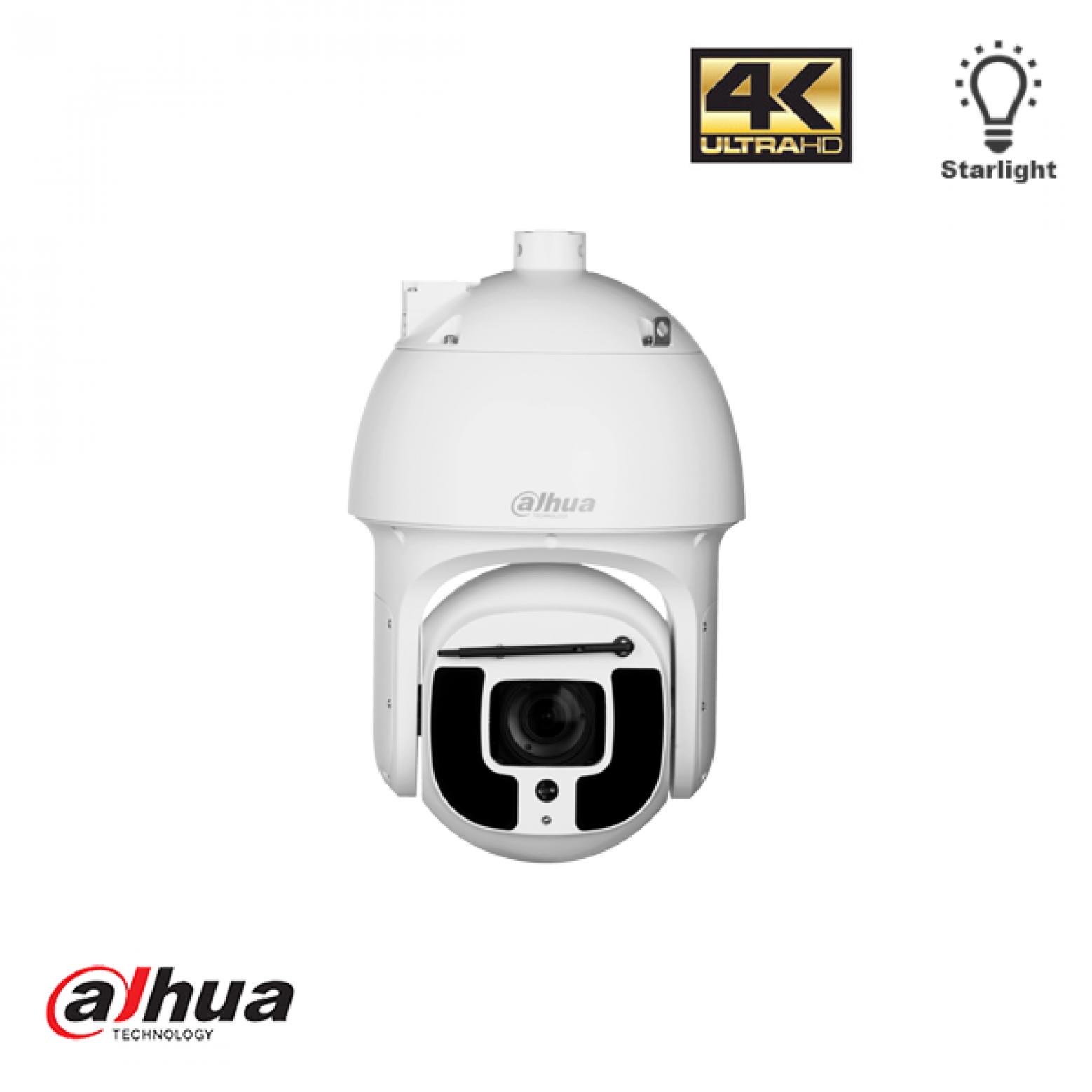 Dahua SD8A840WA-HNF 4K 40x Starlight 500 meter IR PTZ AI Network PTZ Camera