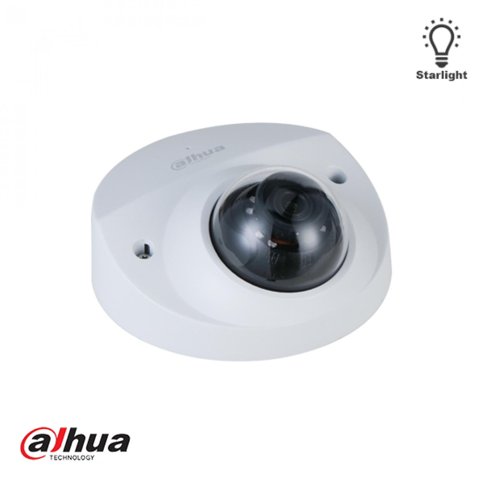 Dahua IPC-HDBW3241F-AS-M-28 2MP Lite AI IR Fixed focal Dome Network Camera 2.8mm